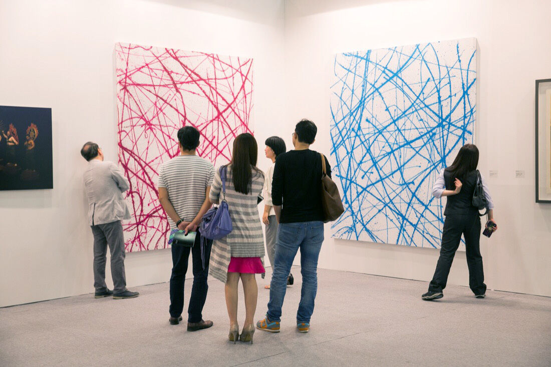 Installation view of Art Taipei, 2015. Photo courtesy of Art Taipei.