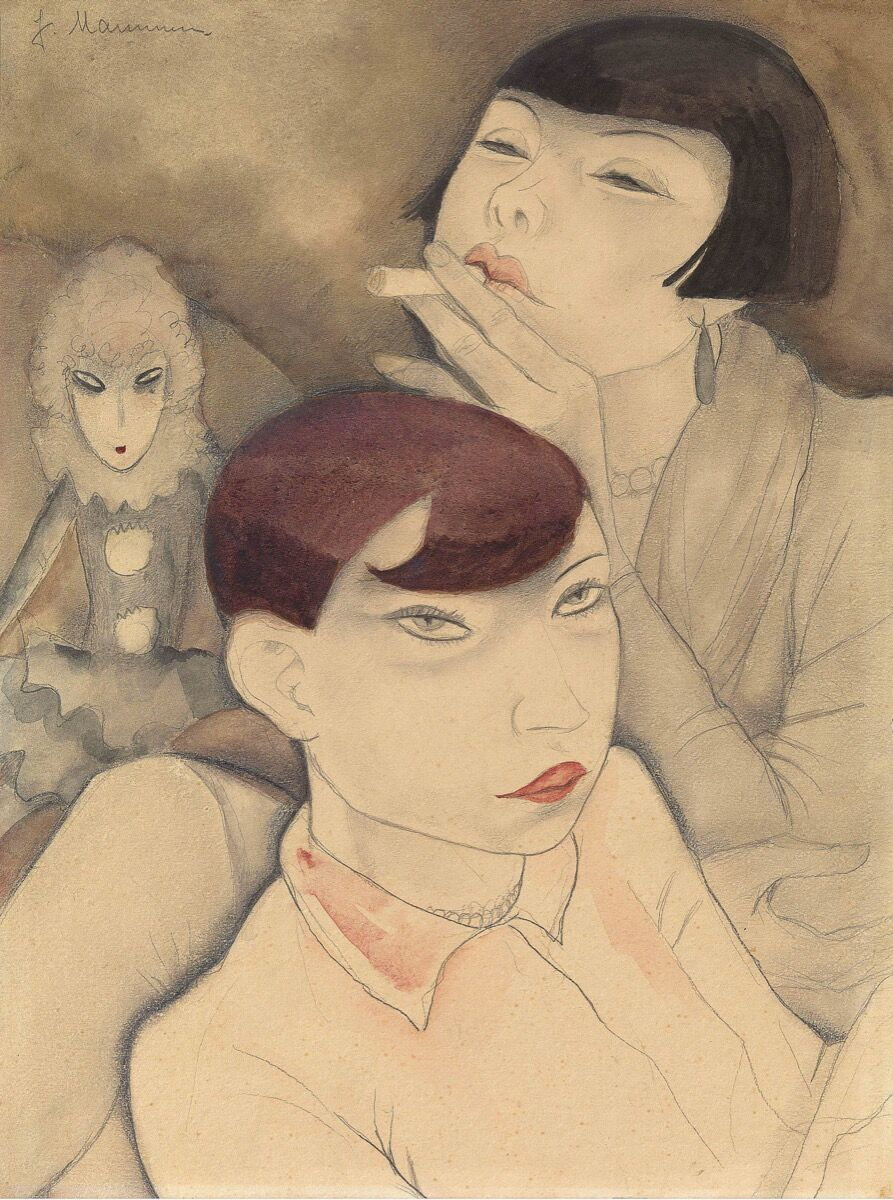 Jeanne Mammen, Boring Dolls, 1929. © DACS, 2018. Courtesy of Tate.