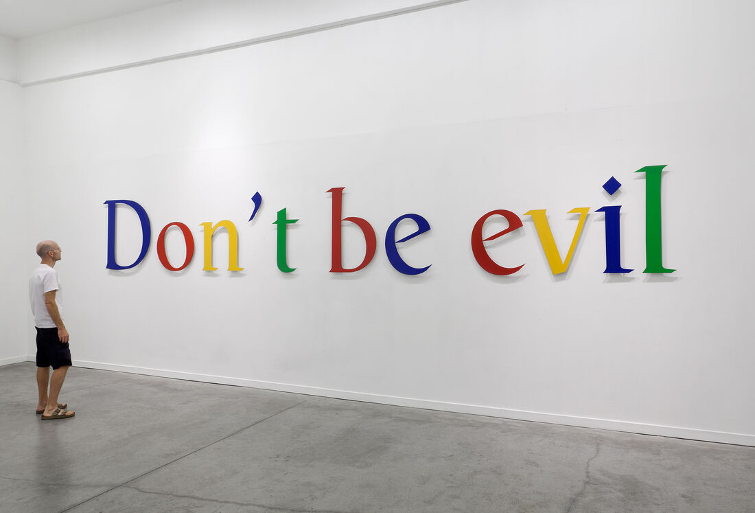 Miri Segal & Or Even Tov, Don't be evil, 2011. Courtesy Dvir Gallery.