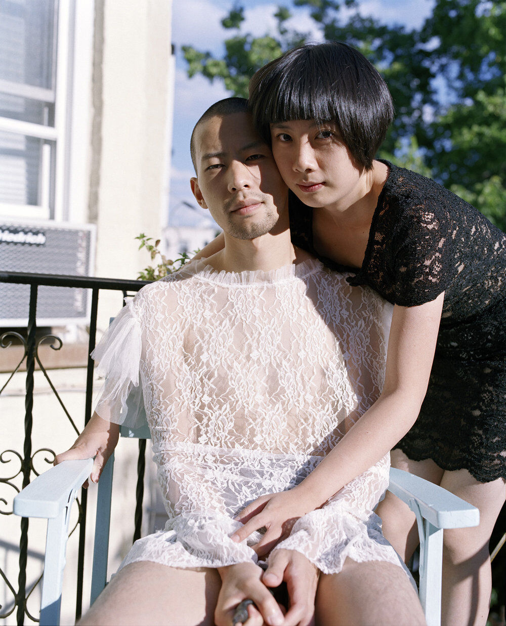 """Pixy Liao, Lace Sisters, from the series """"Experimental Relationship,"""" 2010. Courtesy of the artist."""