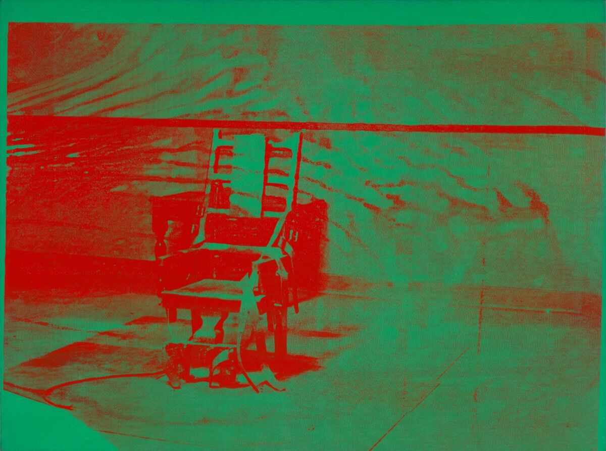 Andy Warhol (1928–1987), Big Electric Chair, 1967–68. © The Andy Warhol Foundation for the Visual Arts, Inc. / Artists Rights Society (ARS) New York. Courtesy of the Whitney Museum of American Art.