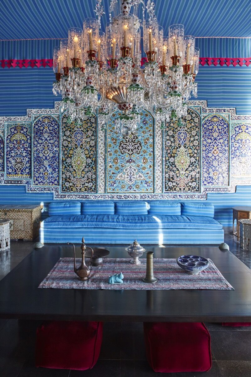 Dining room. © 2015 Linny Morris. Courtesy of the Doris Duke Foundation for Islamic Art.