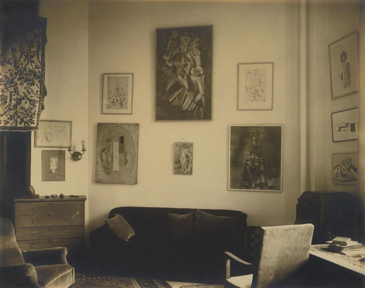 Charles Sheeler, Interior, Arensberg's Apartment, New York, 1919. Courtesy of the Philadelphia Museum of Art.