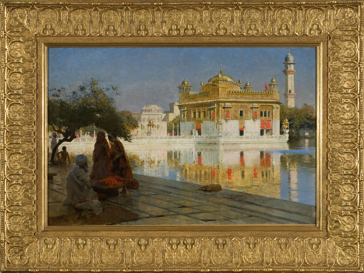 Edwin Lord Weeks, Across the Pool to the Golden Temple of Amritsar, circa 1882-1883. Courtesy of Taylor | Graham and TEFAF New York.