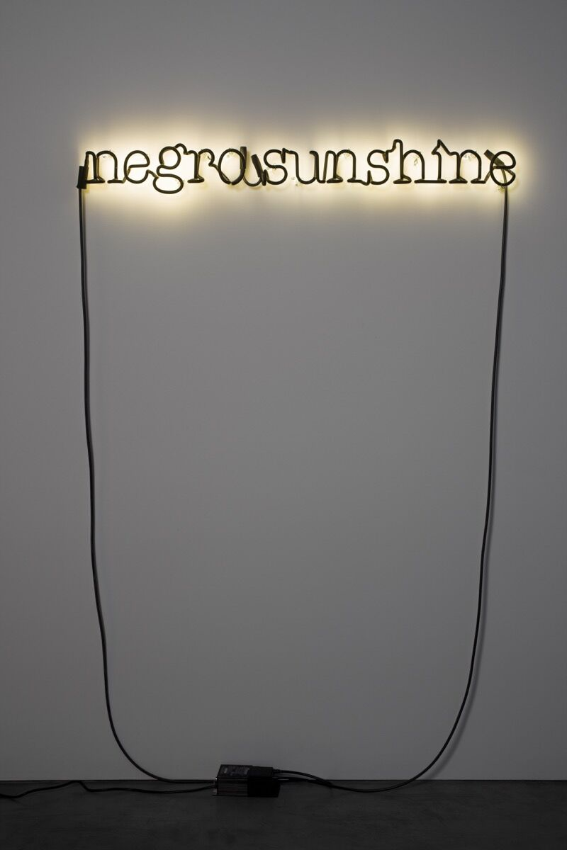 Glenn Ligon, Warm Broad Glow, 2005. © Glenn Ligon; Courtesy of the artist, Luhring Augustine, New York, Regen Projects, Los Angeles, and Thomas Dane Gallery, London.