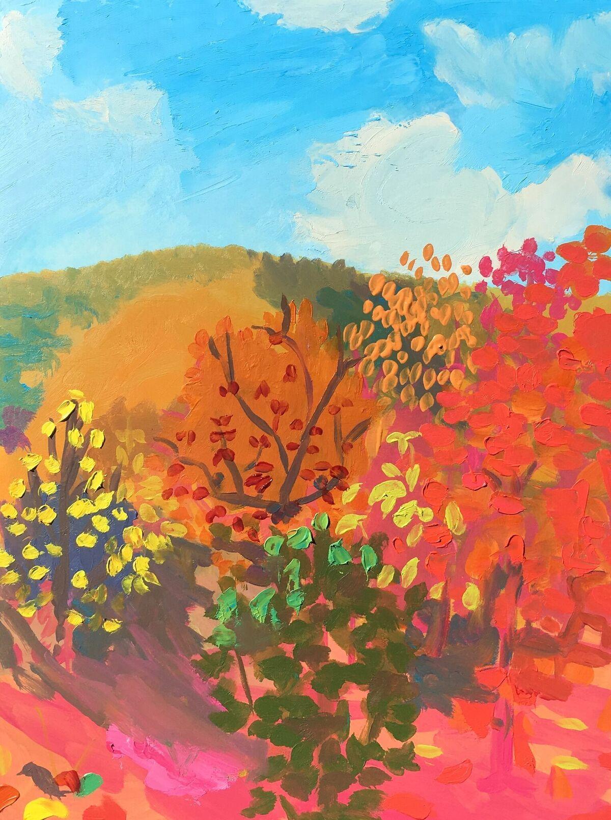Daniel Heidkamp, Upstate Autumn, 2017. Courtesy of the artist.