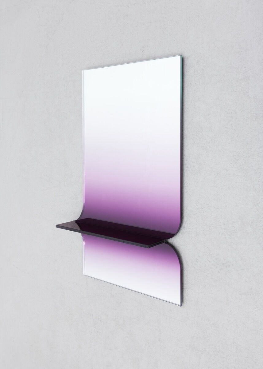 "Germans Ermičs, Mirror, from the series ""Shaping Colour,"" 2016. © Studio Germans Ermičs, 2018. Photo by Lonneke van der Palen.  Courtesy of the artist."
