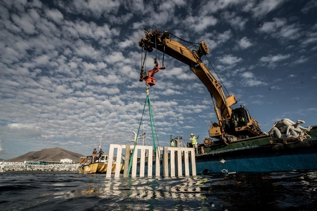 ©Jason deCaires Taylor and CACT Lanzarote. Photo courtesy ofMuseo Atlántico.