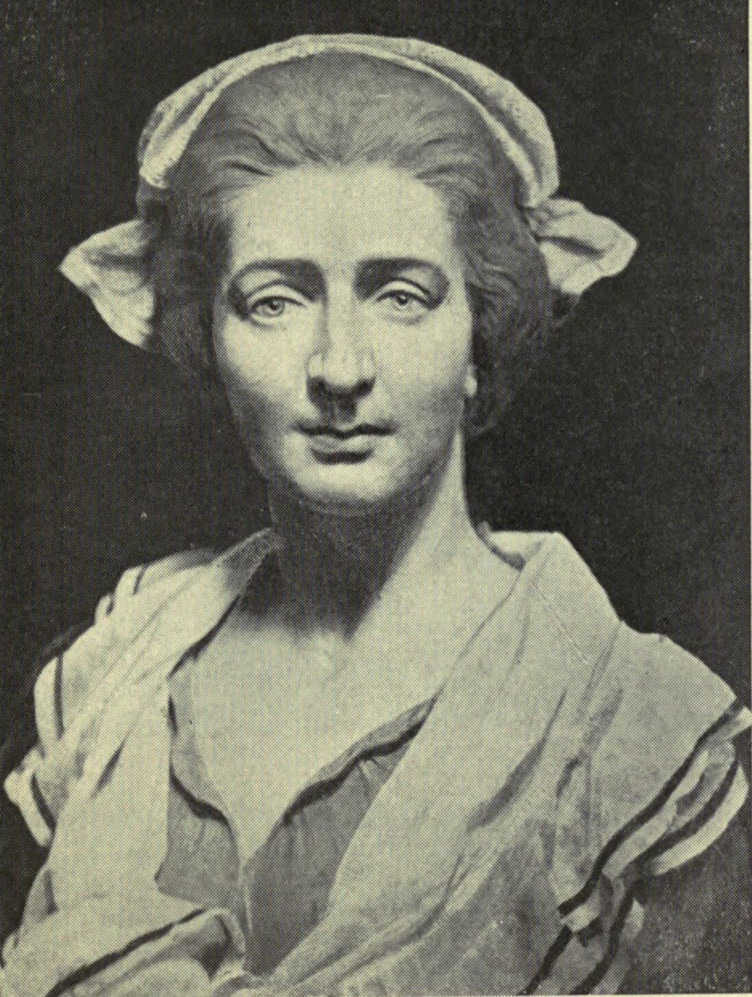 "John T. Tussaud, Portrait of Madame Tussaud, via John Theodore Tussaud, ""The Romance of Madame Tussaud"", 1921. Image via Wikimedia Commons."