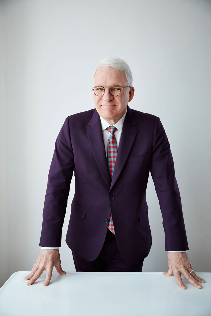 Portrait of Steve Martin by Danny Clinch.