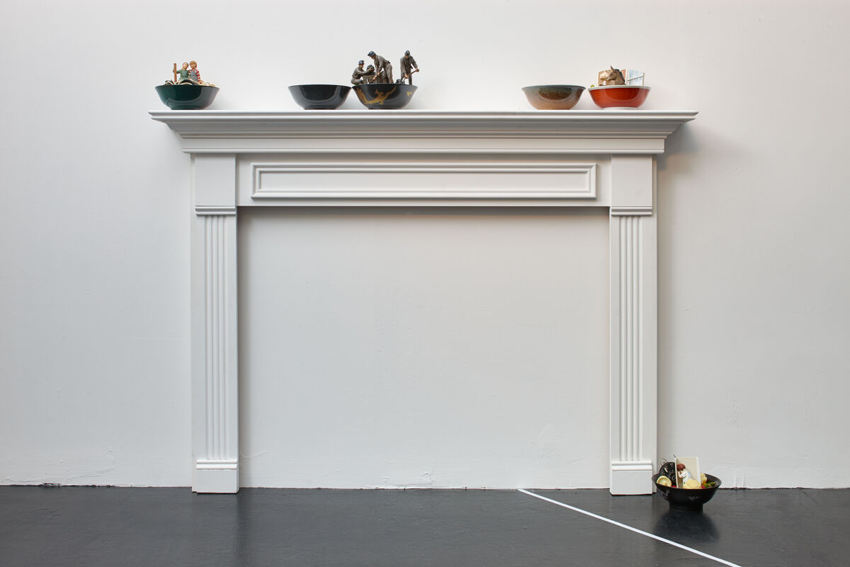 "Installation view of ""System of a Down,"" Ellis King, Dublin. Courtesy Ellis King and the artists"