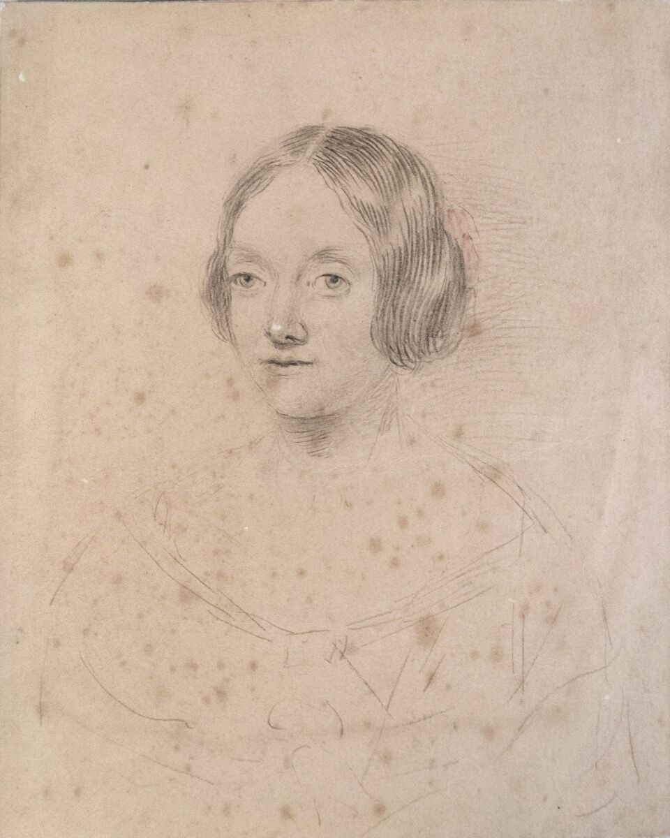 Unknown artist, Anna Children, ca. 1820. From the Nurstead Court Archives. Courtesy of The New York Public Library.