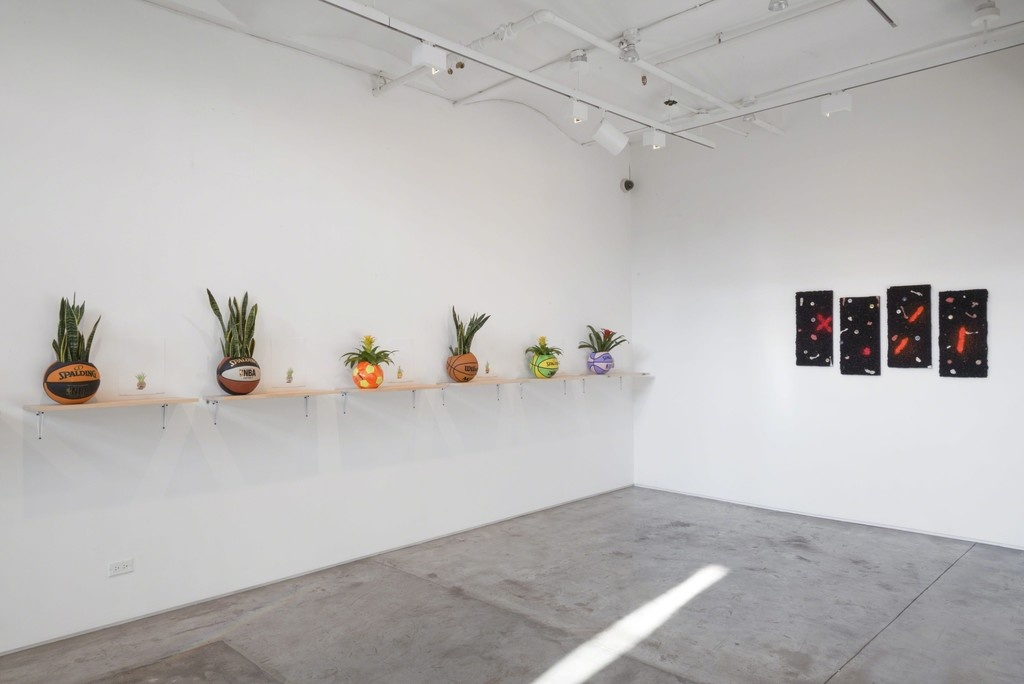 "Installation view of ""Current Times, Savage Times"" at Taymour Grahne Gallery, New York, 2015. Courtesy Taymour Grahne Gallery."