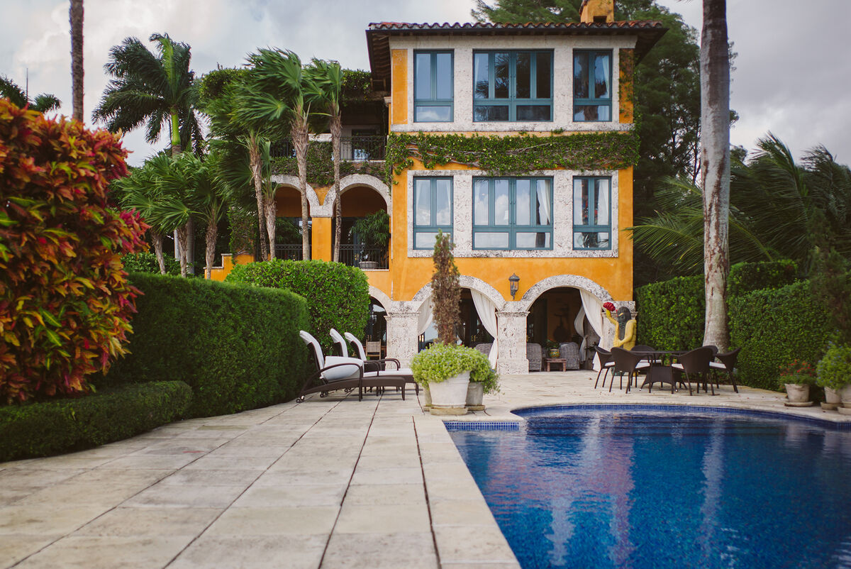 Jorge M. Pérez's Miami home. Photo by Gesi Schilling for Artsy.