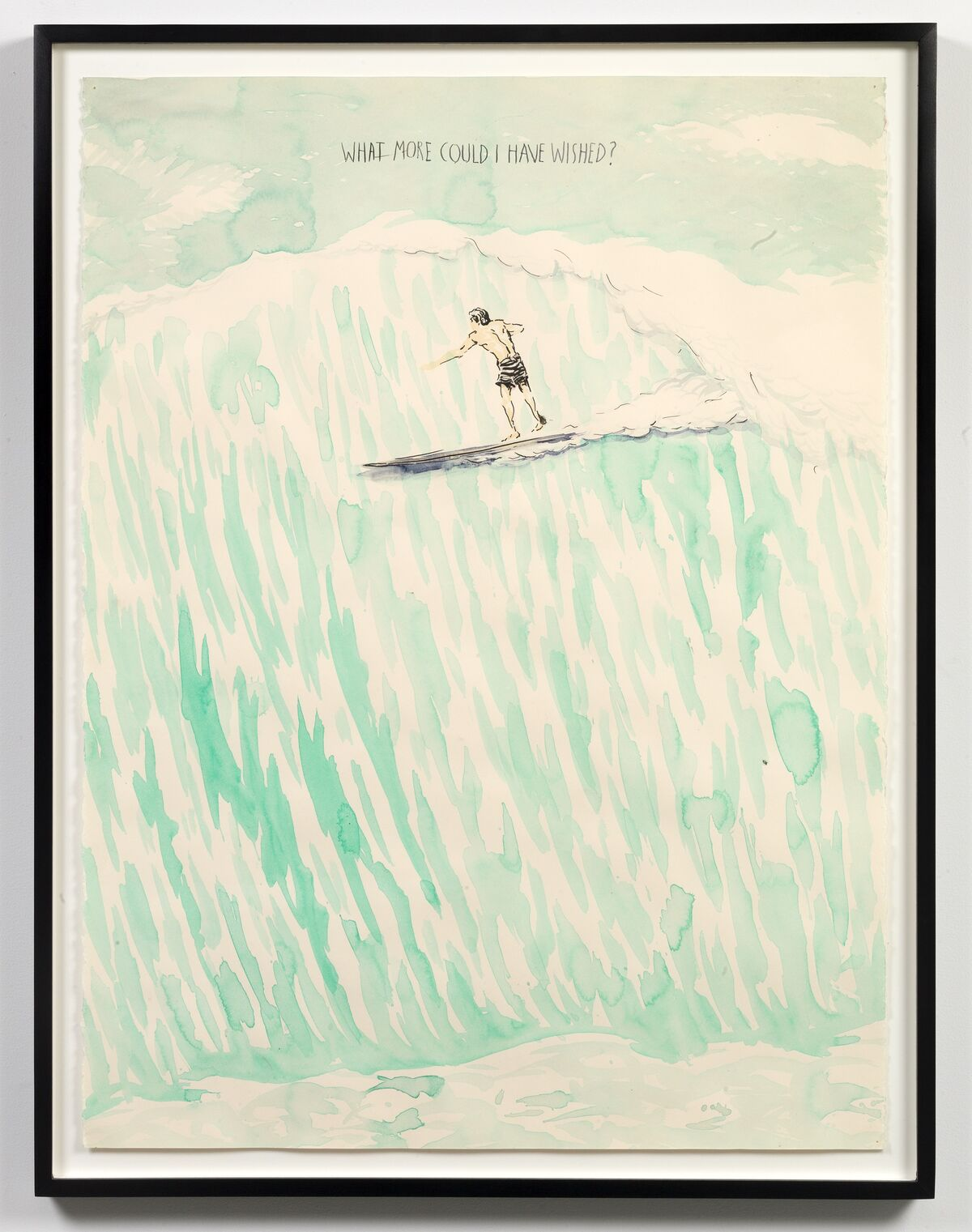 Raymond Pettibon, No Title (What more could...), 1997. Courtesy of David Zwirner, New York.