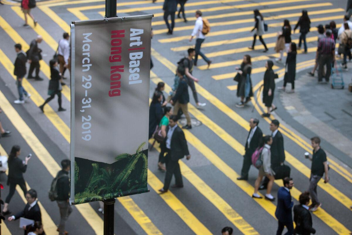 Image of Art Basel, Hong Kong, 2019 courtesy of Art Basel.