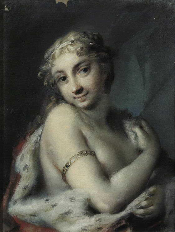 Rosalba Carriera, Winter, mid-1720s. Courtesy of The Hermitage, St. Petersburg.
