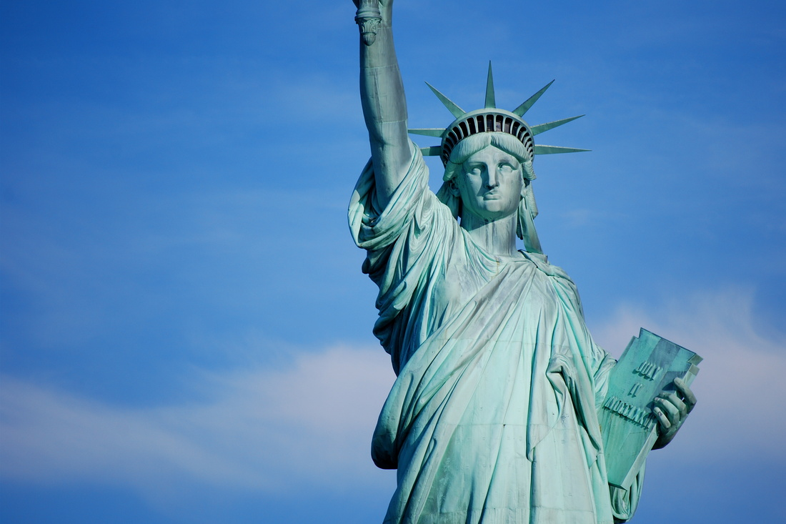Statue of Liberty, New York, NY. Photo by Ceslo Flores, via Flickr.