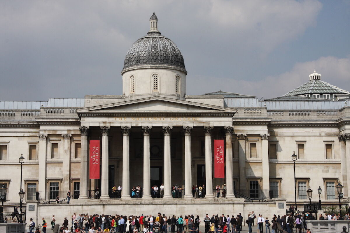 The National Gallery in London. Photo by Ruth Geach, via Flickr.