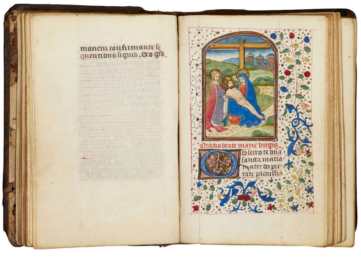 Book of Hours, Use of Rome, in Latin (southern Netherlands [Bruges]), ca. 1460–70. Courtesy Sotheby's.