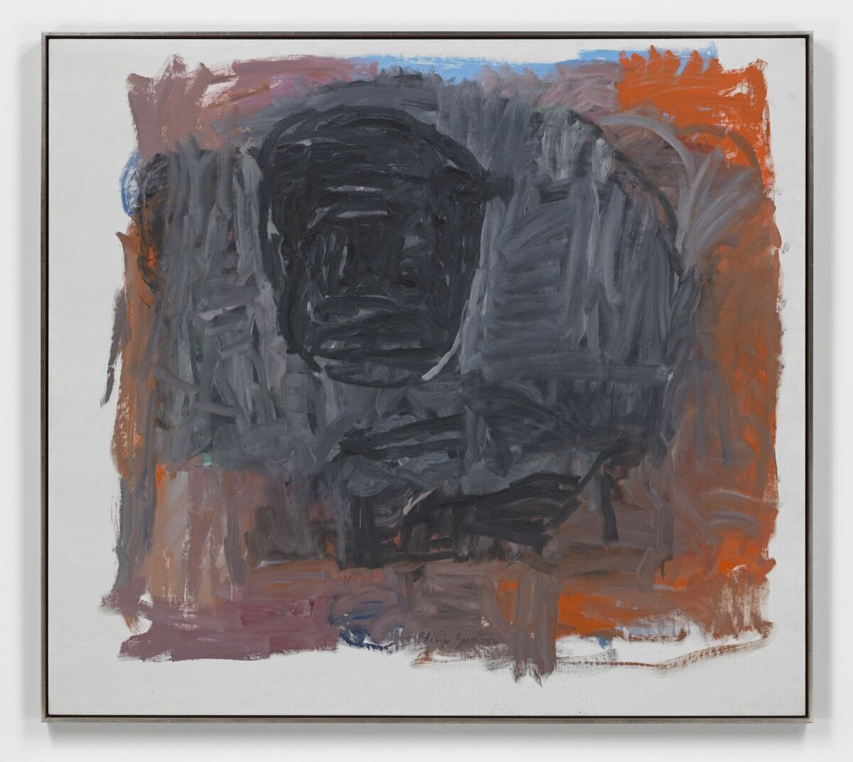 Philip Guston, Painter III , 1963. © The Estate of Philip Guston. Courtesy of the Estate and Hauser & Wirth.