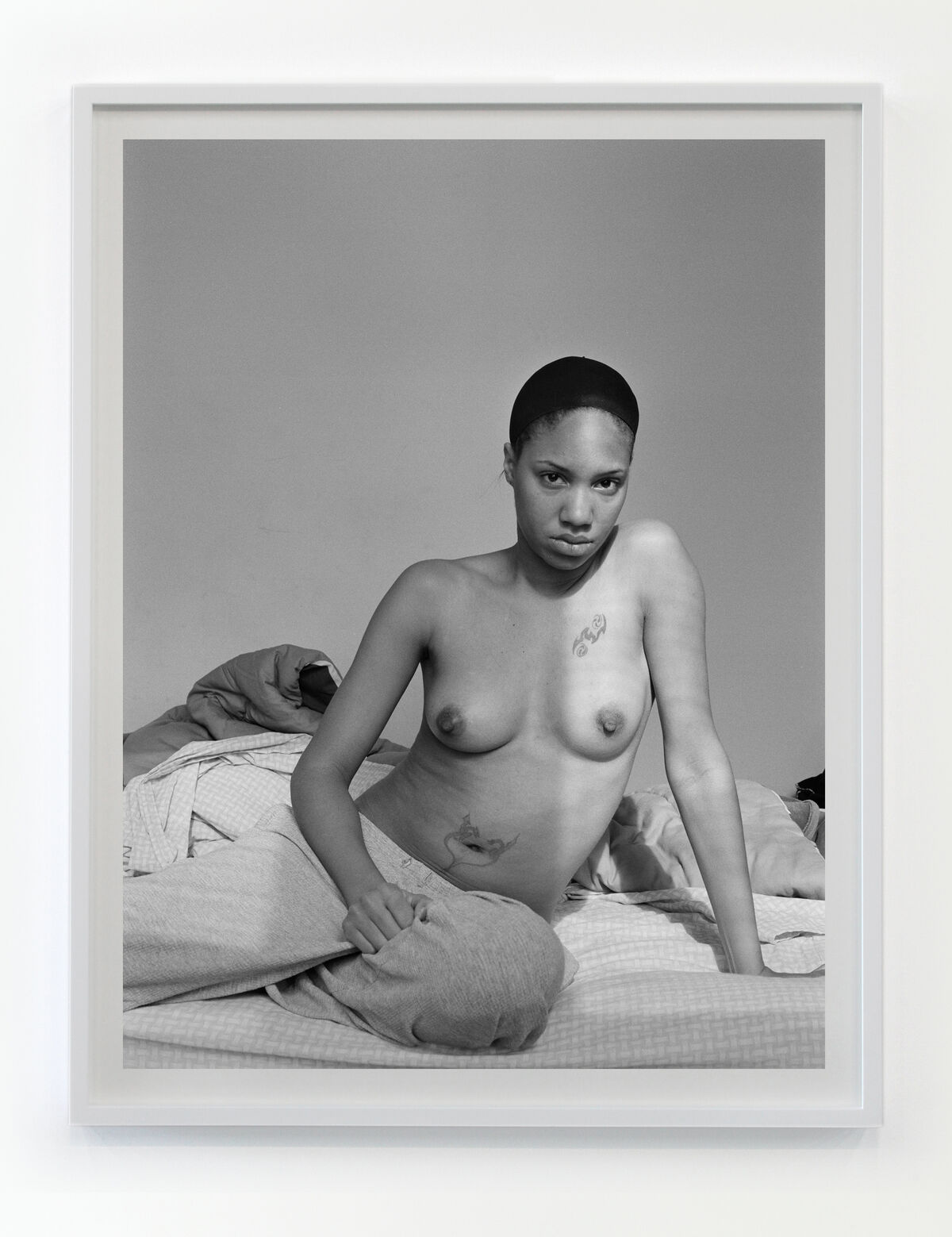 LaToya Ruby Frazier, Self Portrait (Lupus Attack), 2008. Photo by Thomas Müller. Courtesy of the artist and Gavin Brown's Enterprise, New York/Rome.