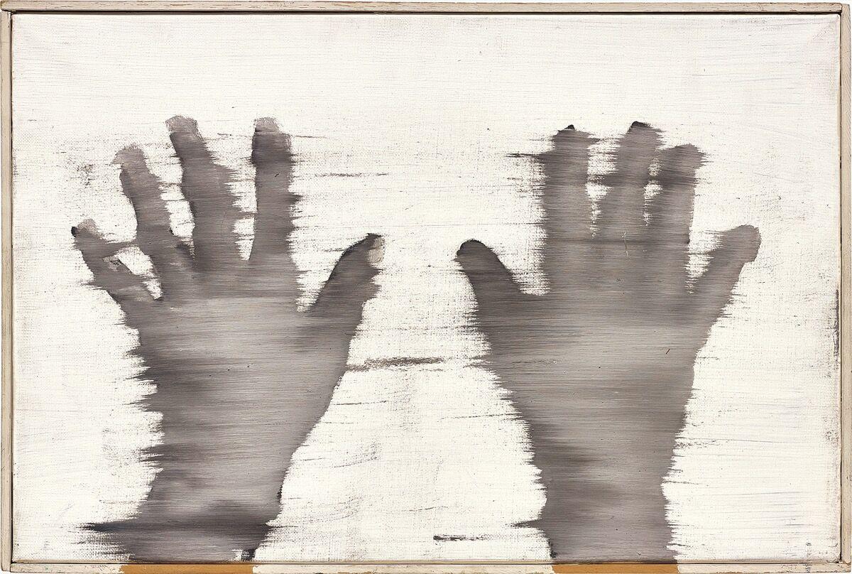 Gerhard Richter, Hände, 1963. Courtesy of Phillips.