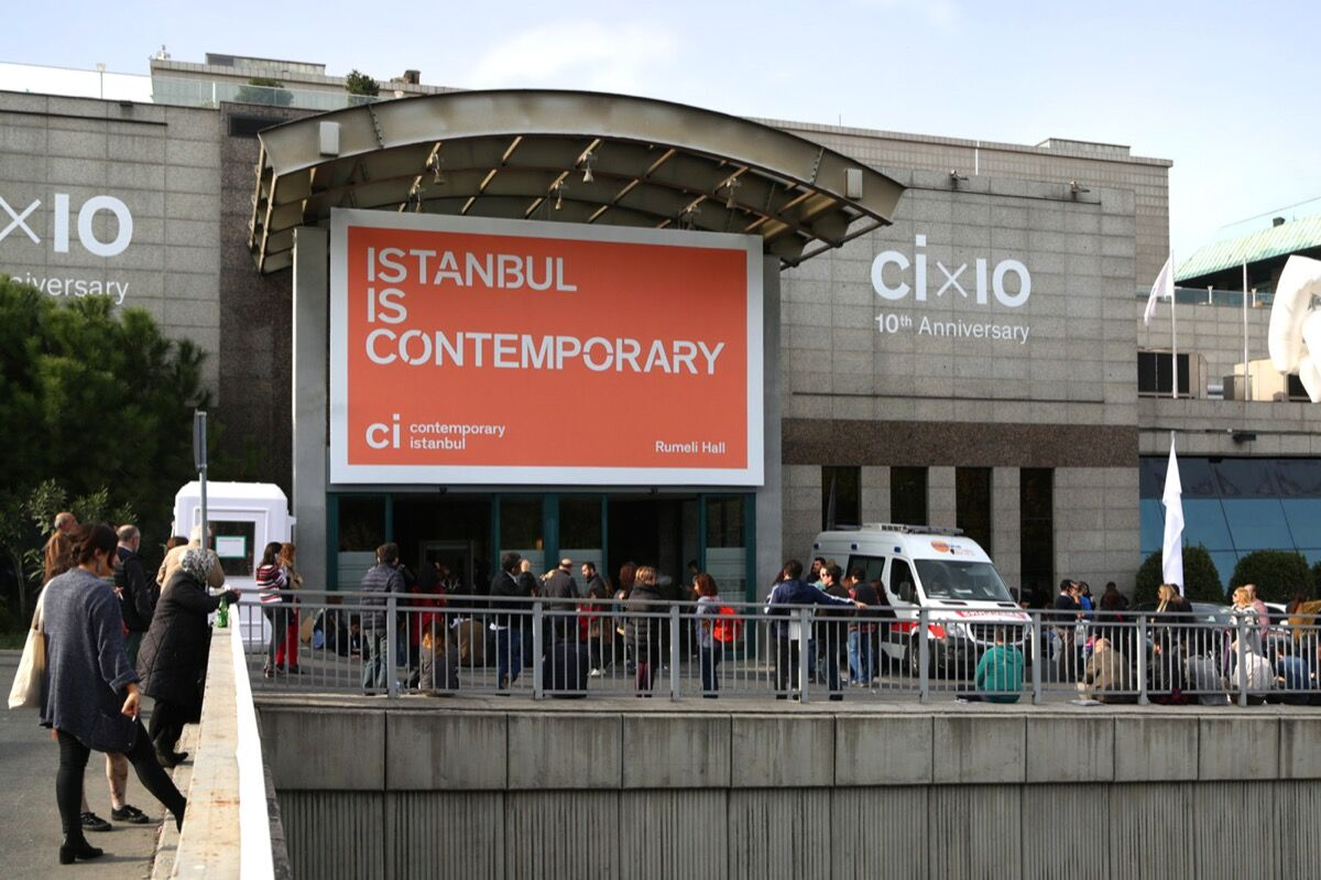 Contemporary Istanbul, 2016. Image courtesy of the fair.