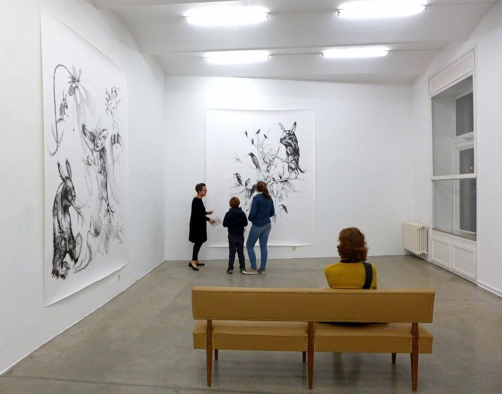 Work by PerDybvig. Image courtesy of Christine König Galerie.