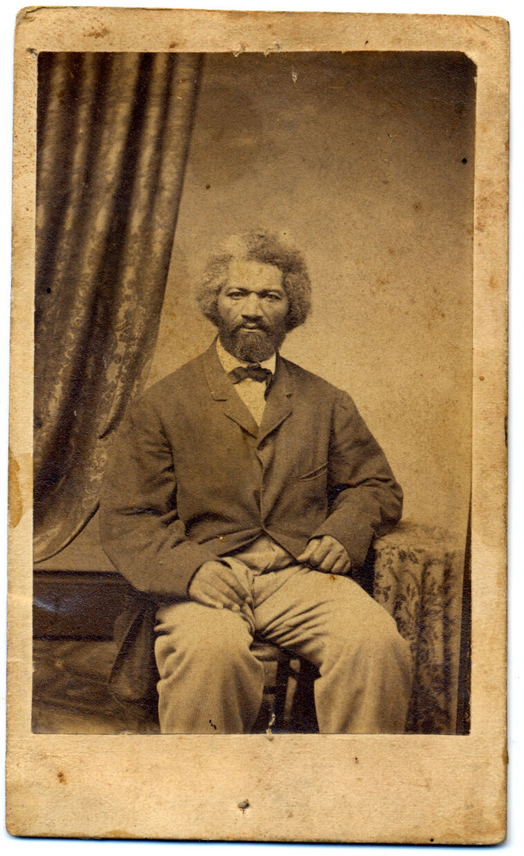 Frederick Douglass. Image via Wikimedia Commons.