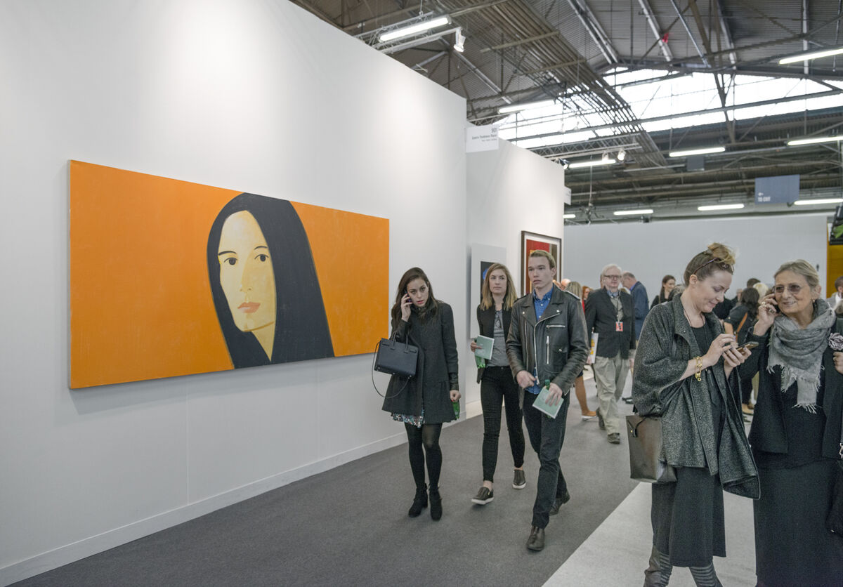 The Armory Show, 2016. Photo by Adam Reich for Artsy.