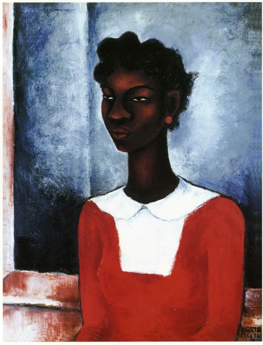 Charles Alston, Girl in a Red Dress, 1934. Courtesy of the Wallach Art Gallery.