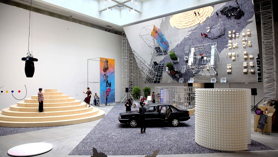"""Installation view of """"Seeds of Time"""" at the Shanghai Himalayas Museum. Courtesy of the Shanghai Project."""