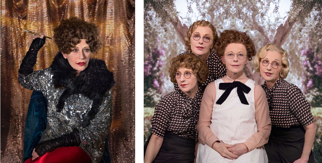 Left: Cindy Sherman, Untitled, 2016; Right: Cindy Sherman, Untitled, 2016. Images courtesy of the artist and Metro Pictures.