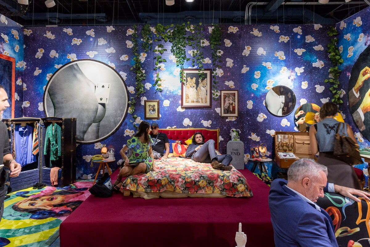Installation view of Fondation Beyeler's booth at Art Basel in Miami Beach, 2016. Photo by Alain Almiñana for Artsy.
