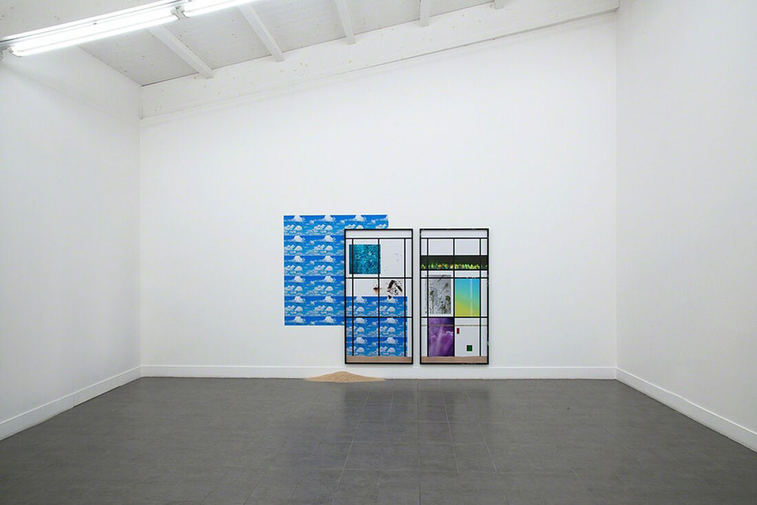 "Installation view of Joshua Citarella's work in ""Mediated Images"" at Brand New Gallery, Milan. Image courtesy the gallery."
