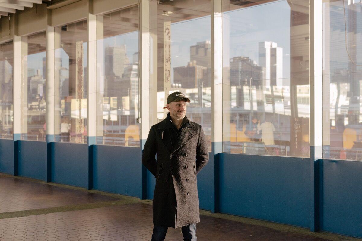 Portrait of Benjamin Genocchio in New York by Daniel Dorsa for Artsy.