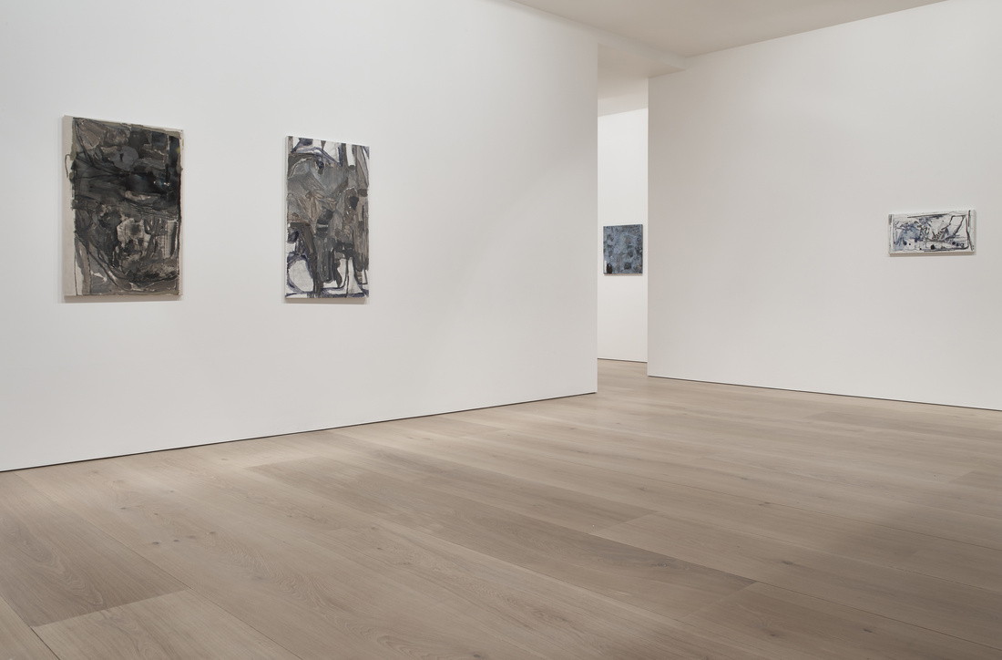 Installation view of Varda Caivano at Victoria Miro, London. Courtesy Victoria Miro and the artist
