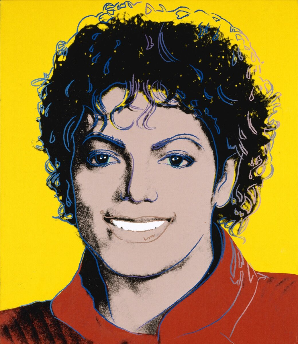 Andy Warhol, Michael Jackson, 1984. © 2018 The Andy Warhol Foundation for the Visual Arts, Inc. / Licensed by DACS, London. Courtesy of the National Portrait Gallery, Smithsonian Institution, Washington D.C.