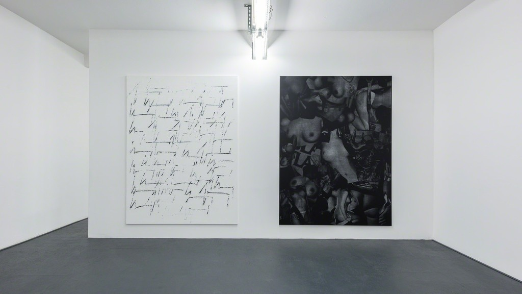 """Installation view of """"Chris Succo"""" at DUVE Berlin courtesy of the gallery."""
