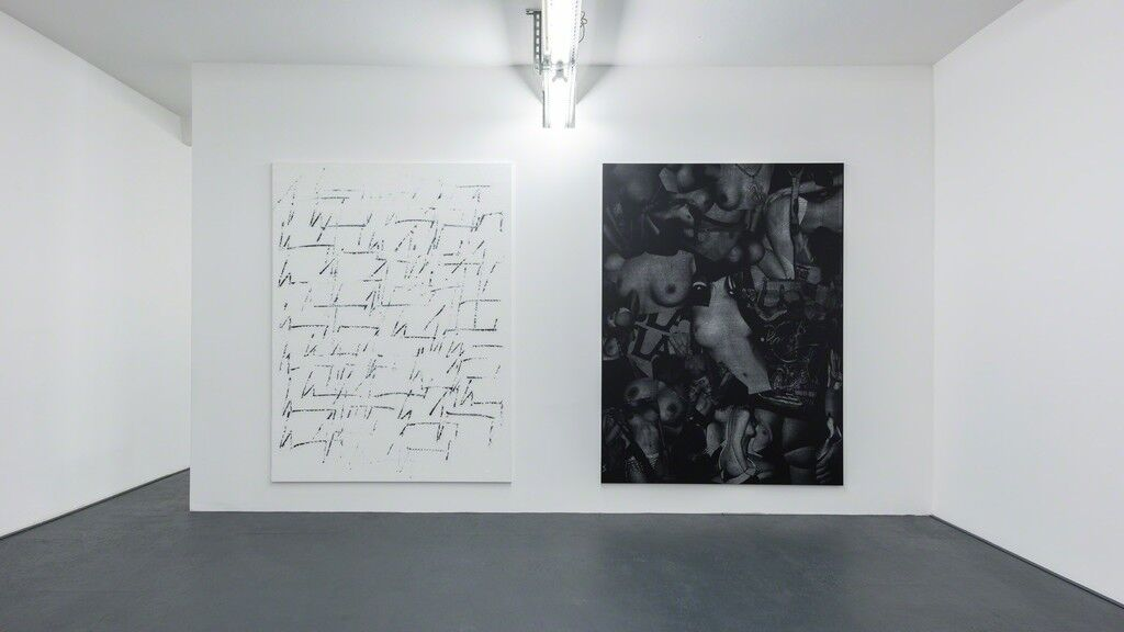 "Installation view of ""Chris Succo"" at DUVE Berlin courtesy of the gallery."