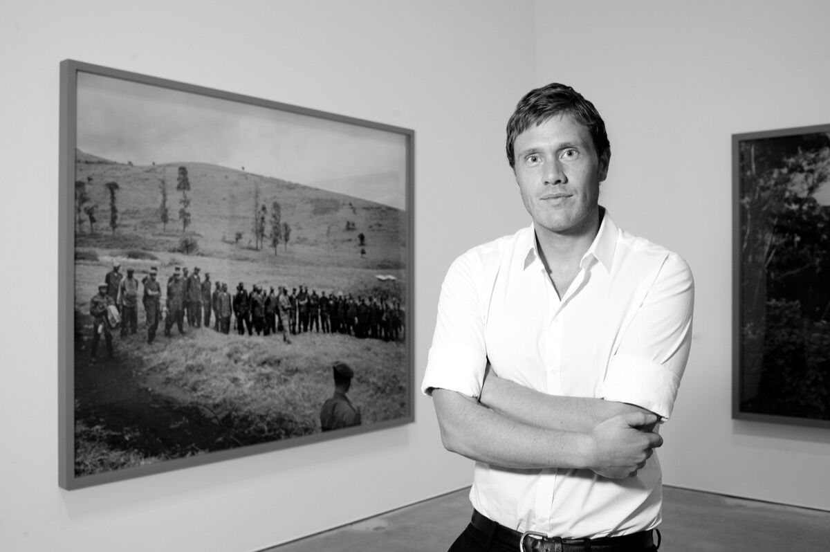 Portrait of Richard Mosse. ©2012. Mark McNulty. Courtesy of the artist and Jack Shainman Gallery, New York.