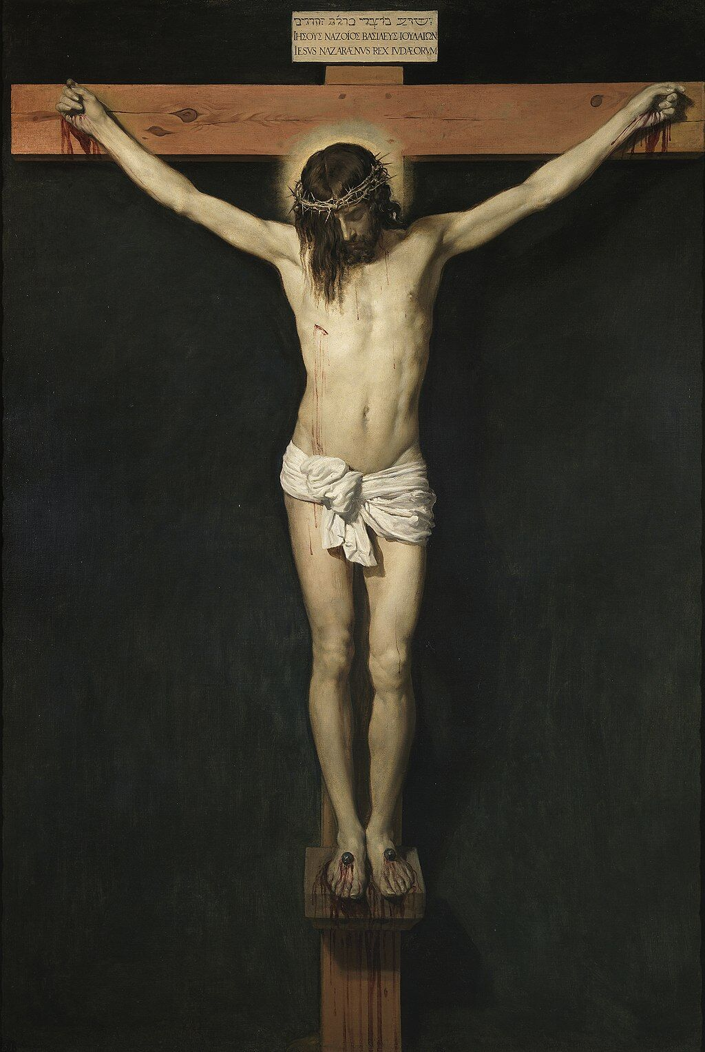 Diego Velázquez, The Crucified Christ, 1632. Image via Wikimedia Commons.