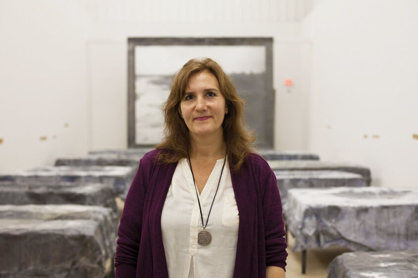 Portrait of Susan Cross courtesy of MASS MoCA.