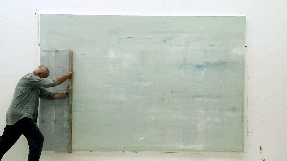 Still from Gerhard Richter Painting, a film by Corinna Belz.