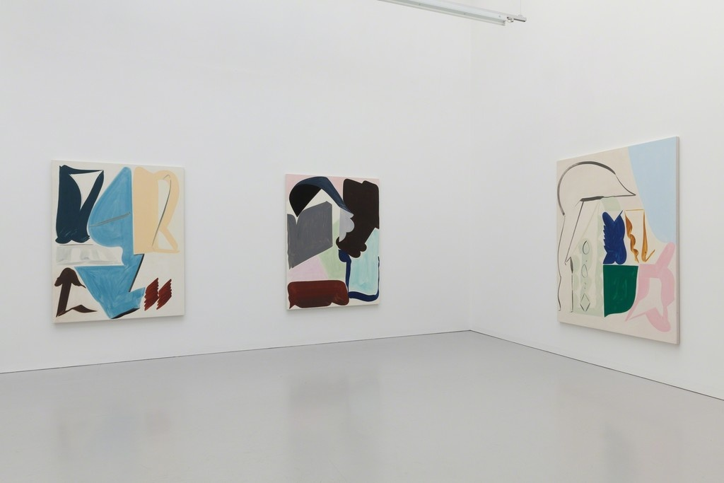 Installation view of Patricia Treib at Kate MacGarry. Courtesy Kate MacGarry and the artist.