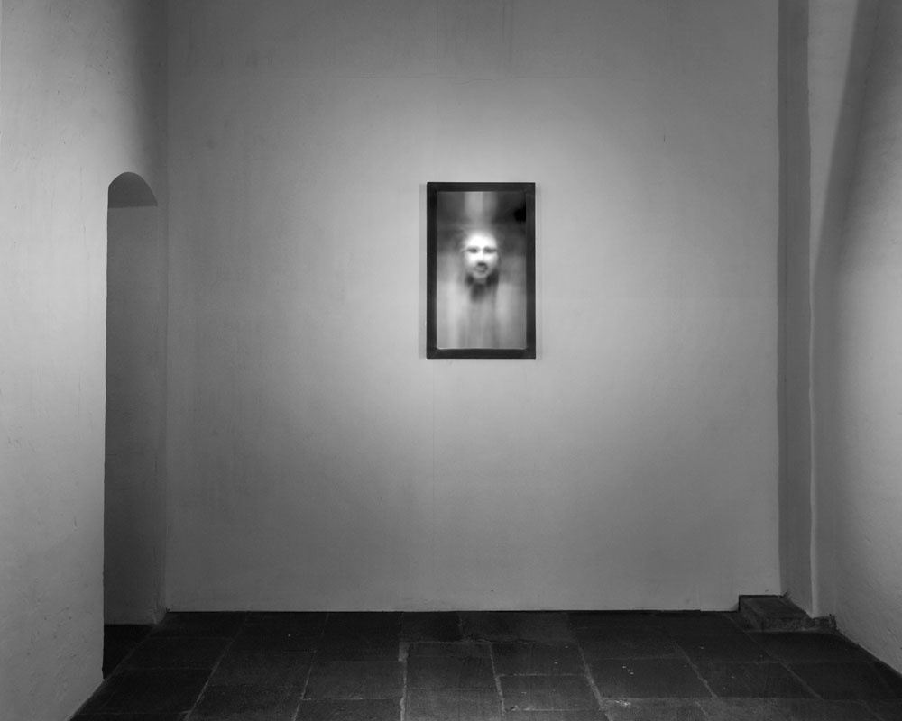 """Installation view of""""Kurt Ralske: Faceness"""" at Axel Vervoordt Gallery, Antwerp. Courtesy of Axel Vervoordt Gallery and the artist."""