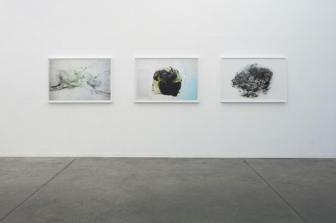 "Installation view of ""Gilad Ophir: New Works,"" courtesy Hezi Cohen Gallery."
