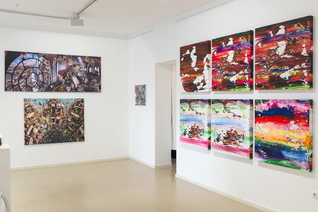 """Installation view of """"NEO JAPAN,"""" Micheko Galerie, Munich. Courtesy Micheko Galerie."""
