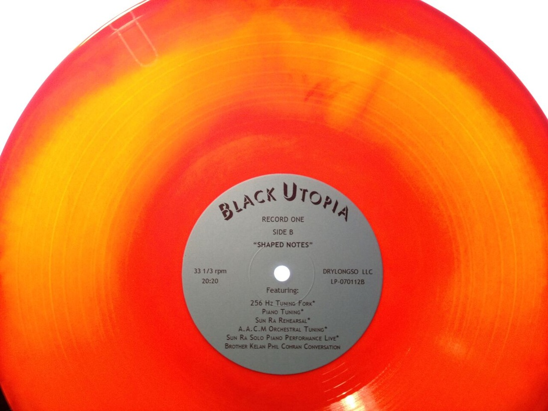 Cauleen Smith, Black Utopia LP, 2011, Double LP, 180g vinyl, Courtesy of the artist and Corbett vs. Dempsey, Chicago